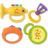 Winfun - Set 4 zornaitori bebelusi Instrumente muzicale
