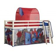 Worlds Apart Cort Spiderman pentru pat cu etaj