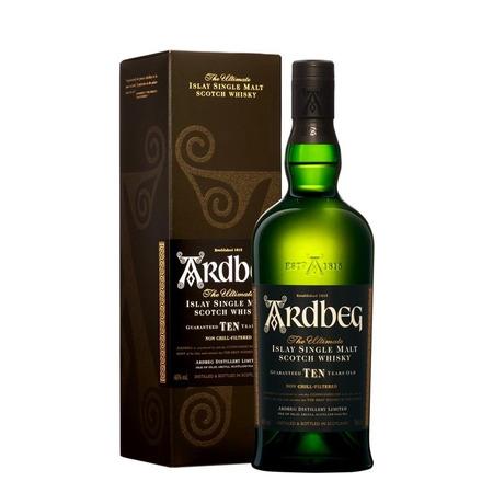 Ardbeg Whisky 10 Ani (cutie) 0.7L