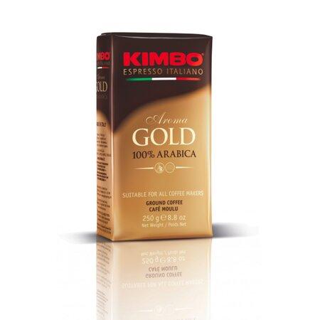 Cafea macinata Aroma Gold 100% Arabica Kimbo 250gr