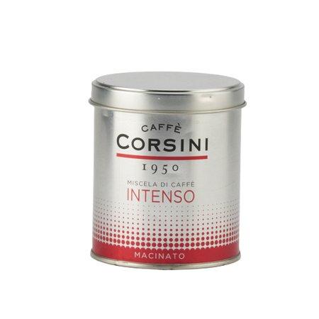 Cafea macinata Corsini cutie metalica 125gr