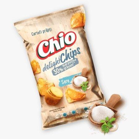 Chio  Chips Delight sare 125g-30% grasimi
