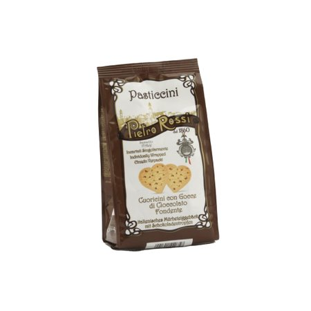 Biscuiti inima cu ciocolata Pietro Rossi 70gr
