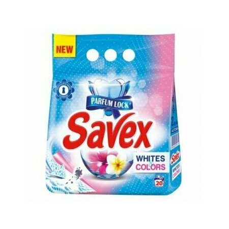 Detergent automat Savex Powerzyme Whites Colors 6kg