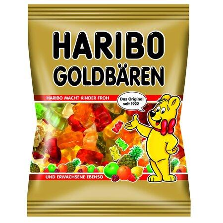 Jeleuri cu aroma de fructe Goldbaren Haribo 100gr