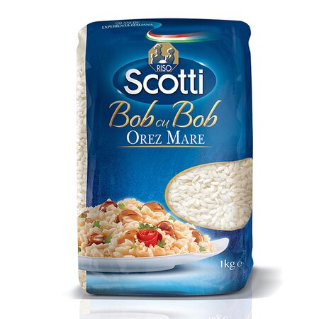 Orez bob cu bob mare Scotti 1kg