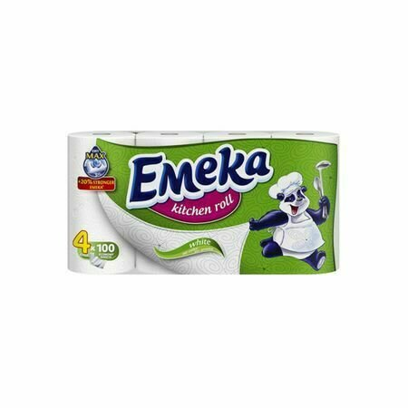 Prosoape de hartie Emeka White 4 role