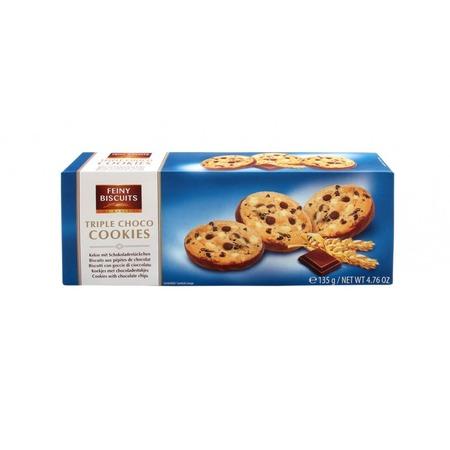 Triple Choco Cookies Feiny 135gr