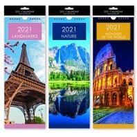 2021 Calendar Slimline Landmark 3 modele