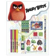 Set Angry Birds de 16 piese rechizite