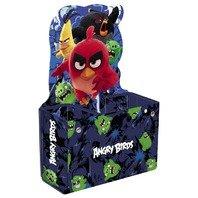 Suport Angry Birds de pixuri de carton