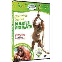 DVD Afla totul despre marile primate