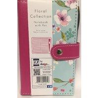 Agenda Floral cu pix