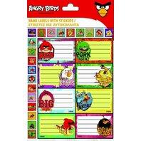 Angry Birds Etichete adezive