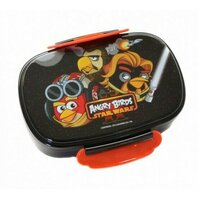 ANGRY BIRDS LUNCH BOX PLASTIC