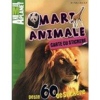 Animal Planet Carte cu stickere: Mari Animale