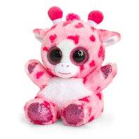 Animotsu Pink Heart Giraffe 15.cm