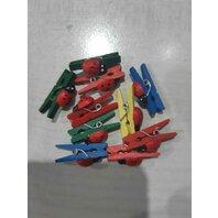 Art & Craft Clestisori colorati cu gargarite, 10 buc