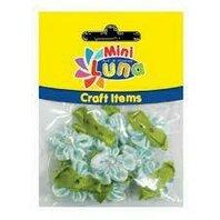 Art & Craft Floricele cu frunze 23 mm, 10 buc
