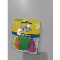 Art & Craft Inimioare colorate, 15 buc