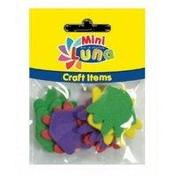 Art & Craft Manute colorate, 10 piese