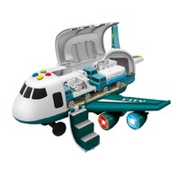 Avion cu frictiune cu sunete si lumini, 30x24,5x19,8cm LUNA