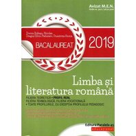 BAC 2019. LIMBA SI LITERATURA ROMANA. PROFIL REAL