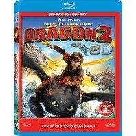 BD 3D CUM SA ITI DRESEZI DRAGONUL 2 Combo (3D+2D)