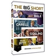 DVD BIG SHORT - BROKERII APOCALIPSEI