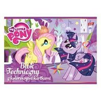 Bloc de desen My Little Pony A4 - 10 file colorate