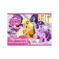 Bloc My little pony de desen A4, 16 file color