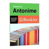 BOOKLET-  DICTIONAR DE ANTONIME