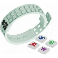Bratara Pixie FRIENDSHIP Wristband fluorescent/Pixel Art