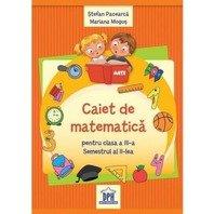CAIET DE MATEMATICA CLASA A III-A, SEM II