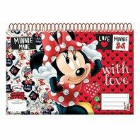 Caiet de notite Minnie Mouse 30 de file