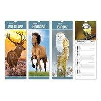 Calendar Slim model design animale salbatice