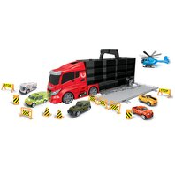 Camion cu maner CITY, 10 piese,  63?23X12, Luna