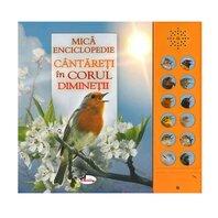 Cantareti in corul diminetii (carte cu sunete)