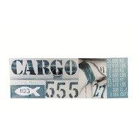 Canvas print, Cargo, rama de lemn,30 x 90 cm