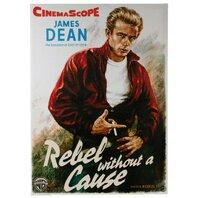 Canvas print, Poster Cinema Rebel, rama de lemn,50 x 70 cm