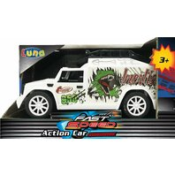 Car friction dinosaur white (b/o) LUNA