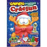 Carte de colorat si activitati Garfield asteapta Craciunul