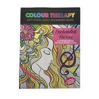 Carte antistres de colorat Enchanted Fairies, A4 64 pag