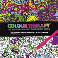 Carte antistress de colorat, Colour Therapy, 120 pg