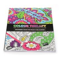 Carte antistress de colorat, Colour Therapy, 64 pag