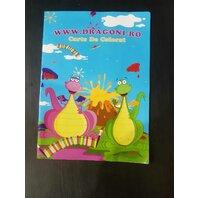 Carte de colorat - Dragoni