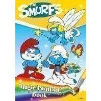 Carte de colorat magica Strumfii