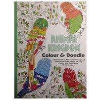 Carte de colorat pentru adulti Regatul Animalelor