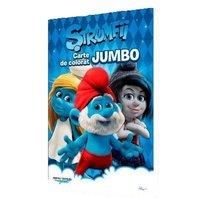 Carte de colorat Strumfii Jumbo
