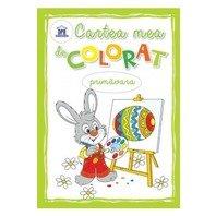 Cartea mea de colorat-primavara